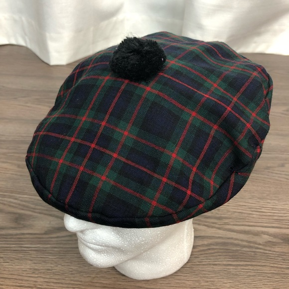Lochcarron Accessories Lochcarron Murray Of Atholl Tartan Flat Hat L Poshmark